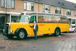 Bus, Omnibus, Saurer, Trouwbus,Rhoon, Public Transport, Real Photo - Auto's