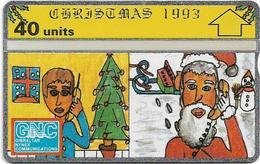 Gibraltar - GNC - Christmas '93 - L&G - 310L - 1993, 40Units, 10.000ex, Mint - Gibraltar