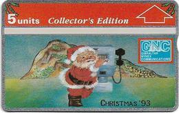 Gibraltar - GNC - Christmas '93 Collector's Edit. - L&G - 310L - 1993, 5Units, 8.000ex, Mint - Gibraltar