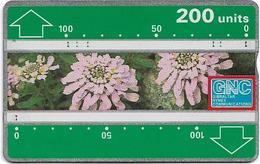 Gibraltar - GNC - Gibraltar Candytuft Flowers - L&G - 230A - 1992, 200Units, 10.000ex, Used - Gibraltar