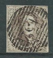 Medaillon 10A Met Stempel Havinnes Pos. 102 Pl 7 - 1858-1862 Medallions (9/12)
