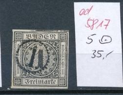Baden  Nr. 5 O    (ed5817  ) Siehe Scan - Baden