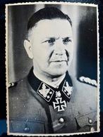 PHOTO FOTO WW2 WWII : ELITE _ WAFFEN _ DIVISION TOTENKOPF ** Theodor EIKE **      //Elite1 - Krieg, Militär