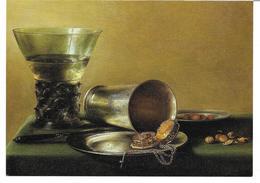 3053f: Kunst- AK Pieter Claesz(1597-1661), Stilleben Mit Vergoldeter Halsuhr - Illustrateurs & Photographes