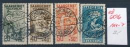 Saar  Nr. 104-7    (ed6076  ) Siehe Scan - 1920-35 Saargebied -onder Volkenbond