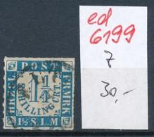 Schleswig-Holstein   Nr. 7    (ed6199  ) Siehe Scan - Schleswig-Holstein