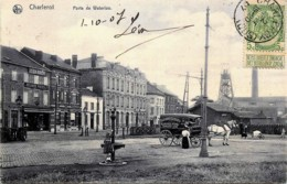 Belgique - Charleroi - Porte De Waterloo - Attelage Des Boulangeries Coopératives Des Ouvriers Réunis - Charleroi Nord - Charleroi