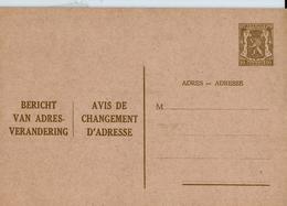 Carte Neuve N° 6. II. NF. - Postwaardestukken