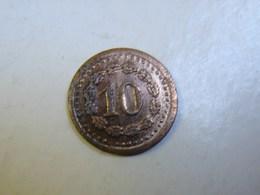 Jeton. 30. Petite Pièce Porte Uniquement Le Chiffre 10 - Monetary / Of Necessity