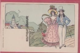 COLLECTION DES CENT--Illustrateur BURRET---N°40---précurseur - Autres Illustrateurs
