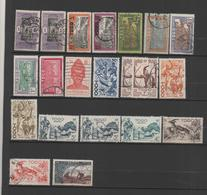 TOGO 21 Timbres 1916-54 Oblitérés - Togo (1914-1960)