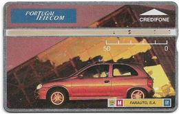 Portugal - PT - L&G - Farauto Laranja Opel Corsa Car - 411L - 1994, 50U, 7.800ex, Used - Portugal