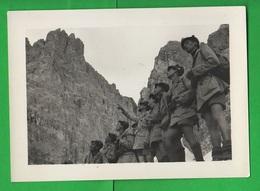 Gil Esercitazione In Montagna Istruttore Ventennio Rifugio Ghiacciai 2 Foto Anni 30 - Guerra, Militari