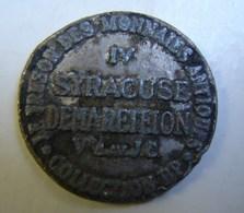 Jeton. 34. Le Trésor Des Monnaies Antiques Syracuse. Collection BP - Professionals / Firms