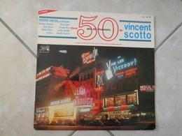 50 Ans De Chansons De Vincent Scotto - (Titres Sur Photos) - Vinyle 33 T LP - Humour, Cabaret