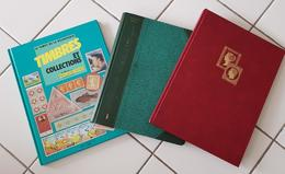LOT, VRAC De Timbres Du Monde Dans 2 Albums. Des Timbres Thématiques, Des Pays, Des Neufs, Des Oblitérés...A VOIR - Stamps
