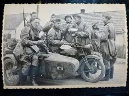 PHOTO FOTO WW2 WWII : ELITE _ WAFFEN _ POLIZEI - PANZER _ GRENADIER - DIVISION     //Elite1 - Krieg, Militär