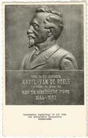 9Dp-801: Gedenkplaat Karel Van De Poele Uitvinder Van De Electrische Trams.... - Lichtervelde