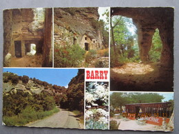 CP 84 BOLLENE - Multivue > Village Troglodytique Gallo Romain De BARRY 1971 - Bollene