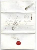DA MONTALBODDO A FABRIANO - 19.5.1855 - TSSAZIONE CORRETTA. - Italy