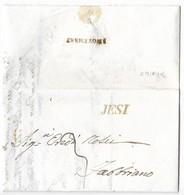 DA JESI A FABRIANO - 3.11.1840. - Italy
