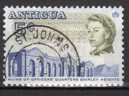 Antigua Single 5 Cent Single Stamp From The 1966 Island Views And Buildings Definitive Issue. - Antigua & Barbuda (...-1981)