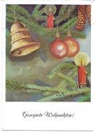3088p: AK Weihnachten 1958, Kunst Der Mund- Und Fuss- Schaffenden, Gelaufen - Weihnachten