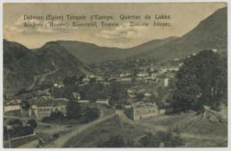 (Albanie) Shqipëria . Delvino . Delvinë . Quartier De Lakka . - Albania