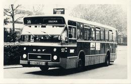Bus, Omnibus, DAF, RET 38, Crooswijk, Rotterdam, Public Transport, Real Photo - Auto's