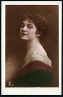 C6038 - TOP Porträt Hübsche Junge Frau - Pretty Young Women - Coloriert - Fotografie