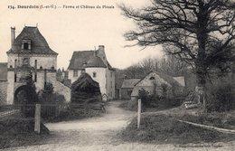 Dourdain (35) - La Ferme Et Le Manoir Du Plessis. - France