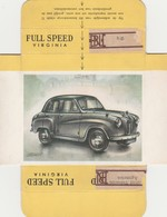 FULL SPEED VIRGINIA Nr 172, AUSTIN 1953 - Cigarette Cards