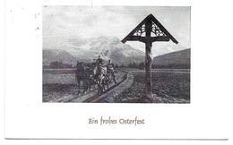 3088j: AK Frohe Ostern 1972, Pferdekutsche, Gelaufen Innerhalb Österreichs - Pferde