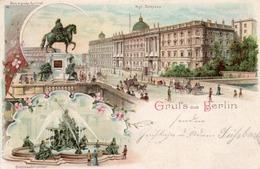 GRUSS AUS BERLIN-1900 - Saluti Da.../ Gruss Aus...