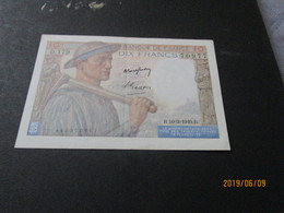 Billet Banknote France 20f Paysan R 10 3 1949 Fayette - 20 F 1942-1950 ''Pêcheur''