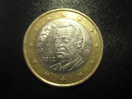 1 Eur Spain 2012 Coin Euro - Espagne