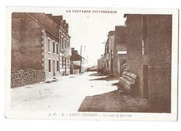 SAINT THURIEN (29) Route De Querrien - France