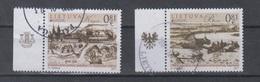 Lithuania 2017 Mi 1250-1 Used Europa,castles - Litauen