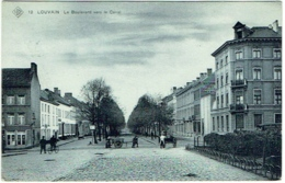 Louvain. Boulevard Vers Le Canal. - Leuven