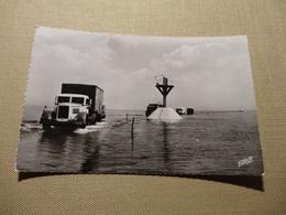 Ile De Noirmoutier - Passage Camions Sur La Route Encore Recouverte D'eau (5454) - Noirmoutier