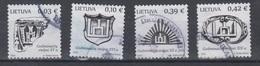Lithuania 2018 Mi 1265-8 Used State Symbols - Lithuania