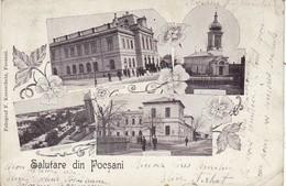 Focsani - Salutare Din Focsani - 1900 - - Roemenië