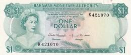 Bahamas 1 Dollar 1968 AUNC - Bahamas