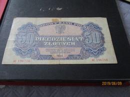 Grand Billet Banknote Pologne 1944 - Poland