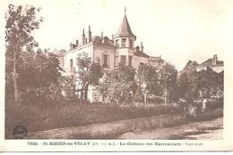 St DIDIER En VELAY  Le Chateau Des Marronniers - Saint Didier En Velay