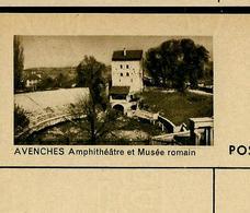 Carte Illustré Neuve N° 182 - 029 G  AVENCHES Amphithéâtre Et Musée Romain (Zumstein 2009) - Interi Postali