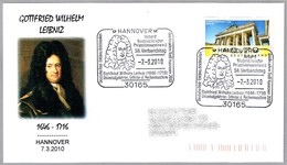 G.W.LEIBNIZ. Matematico - Mathematician. Hannover 2010 - Other