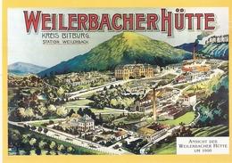Weilerbacher Hütte Um 1900 - Autres