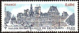 France Oblitération Cachet à Date N° 4932 - Salon Philatélique Paris - Hotel De Ville - Used Stamps