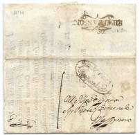 DA RIPATRANSONE A FERMO - 28.11.1844. - Italy